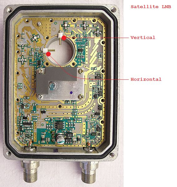 Satellite Dual Antenna Low Noise Block