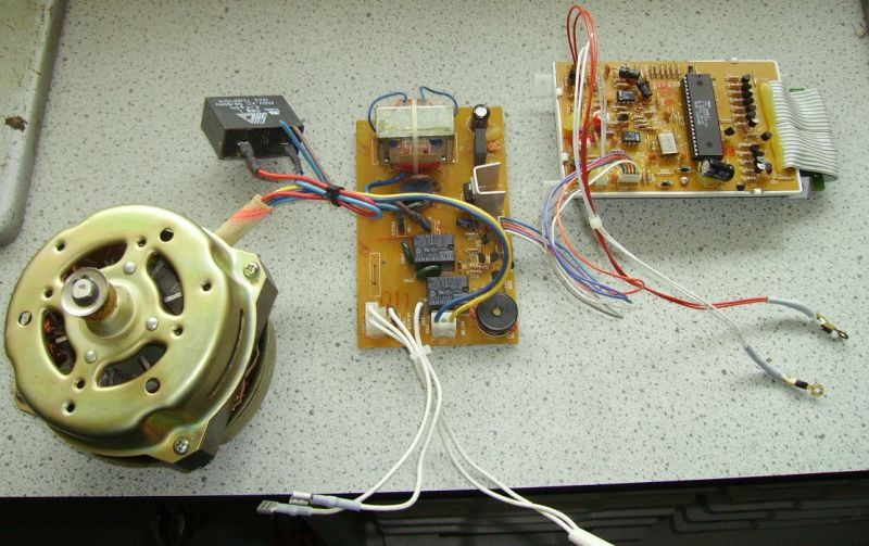 Bread Machine Controller Electronics