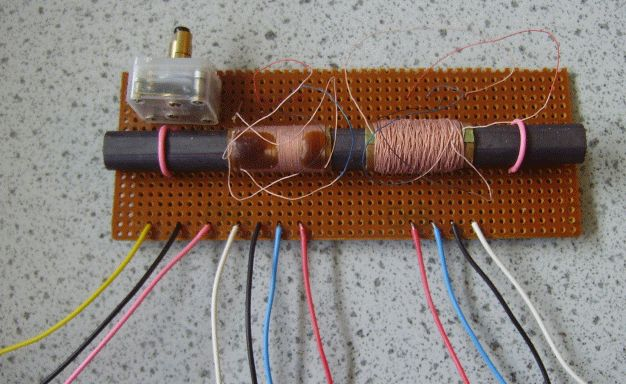 Ferrite Rod Tuned Circuit and Antenna
