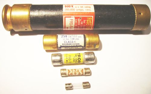 Huge, Medium and Tiny Fuses