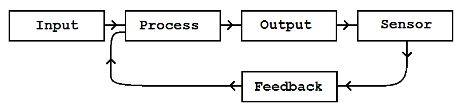 Input Process Output plus Feedback