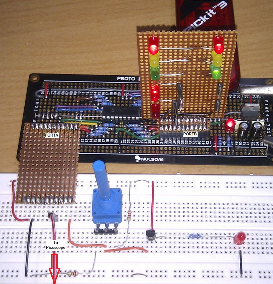 ADC Test Circuit