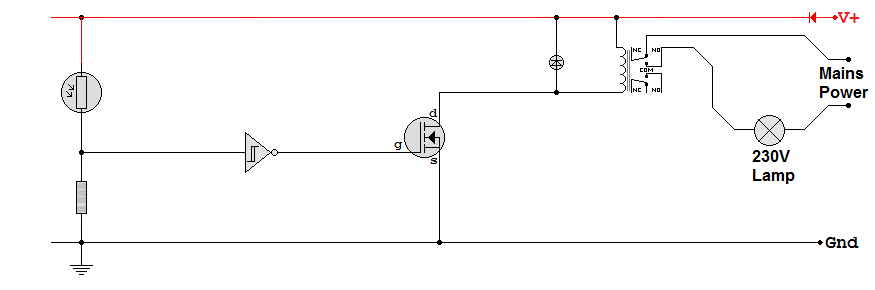 Sub System Circuit Diagram